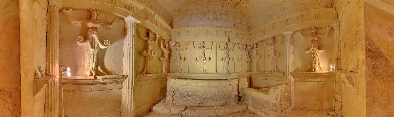 Тракийская гробница в Свештарах