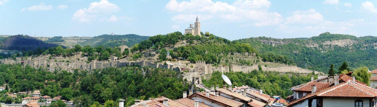 крепость царевец болгария Тырново