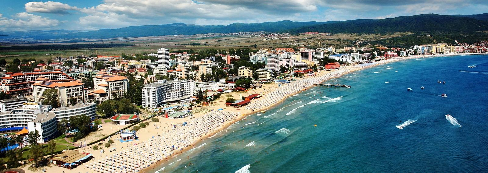 пляж солнечный берег болгария