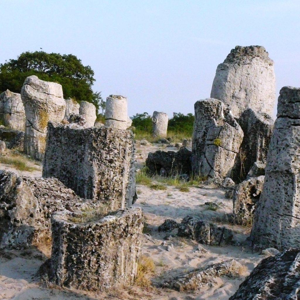 каменный лес в болгарии