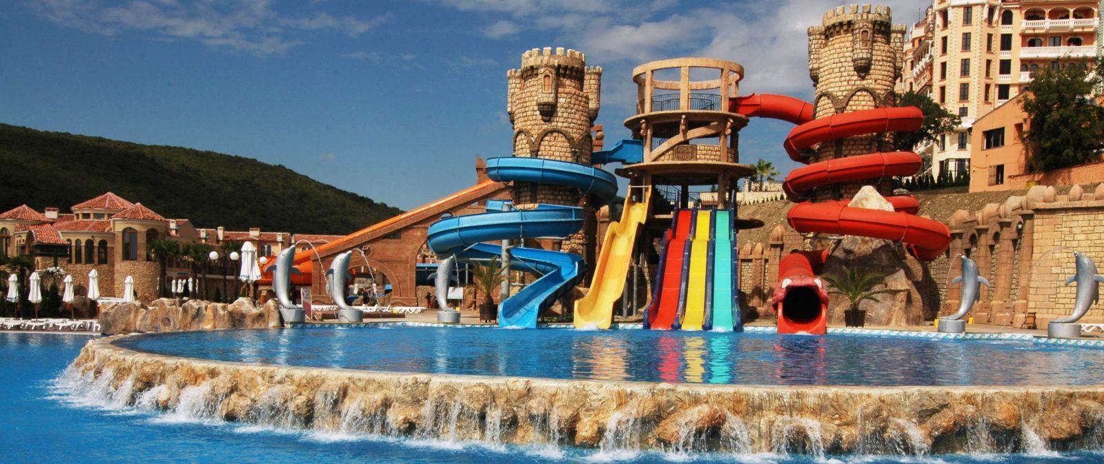 аквапарк бургас болгария