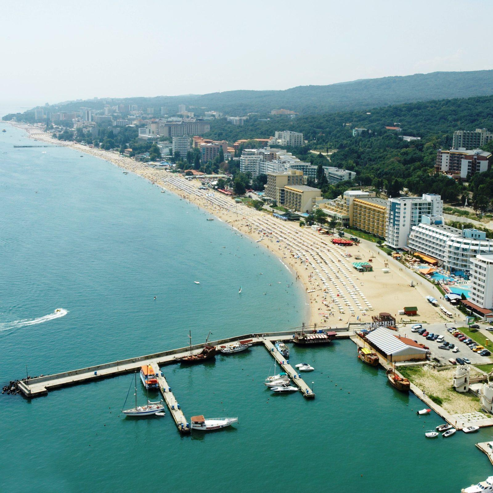 Бургас Болгария побережье
