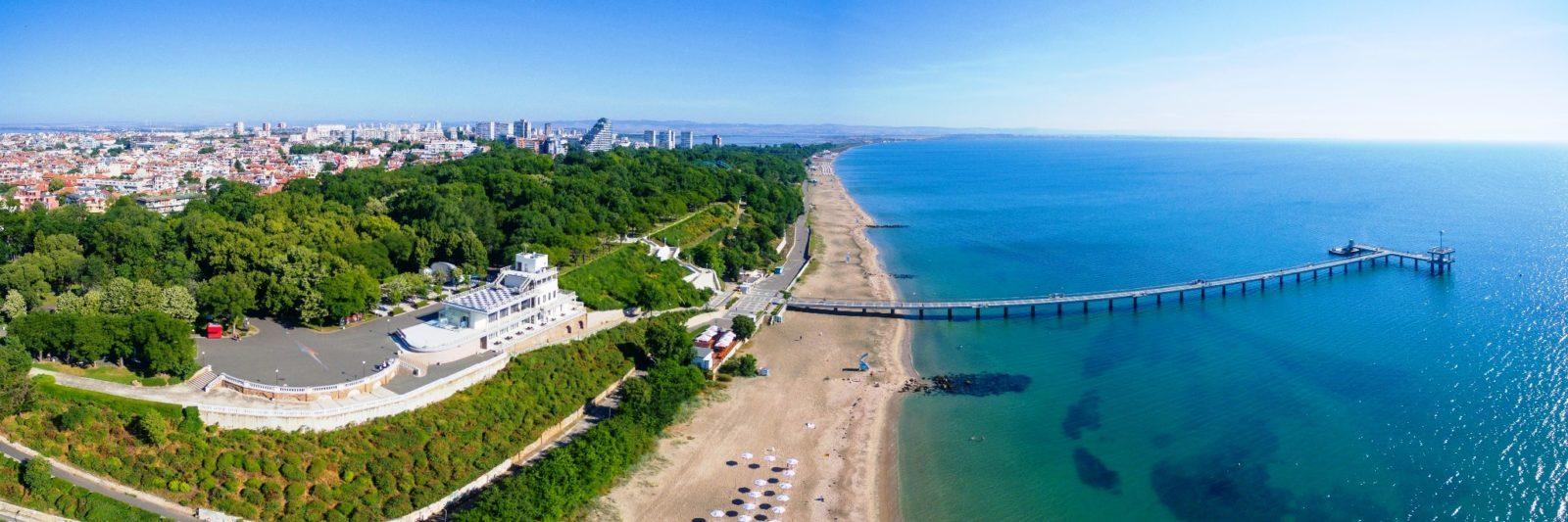 Курорт Бургас море