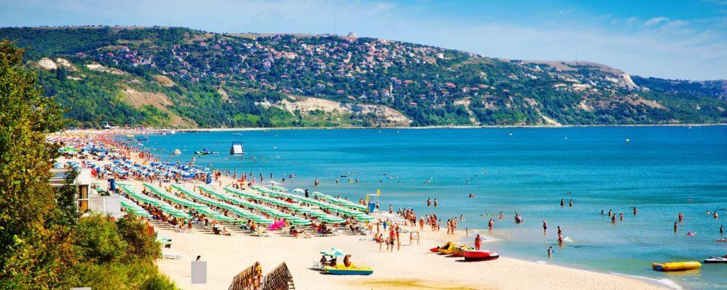 КурортЗолотые Пески в Болгарии