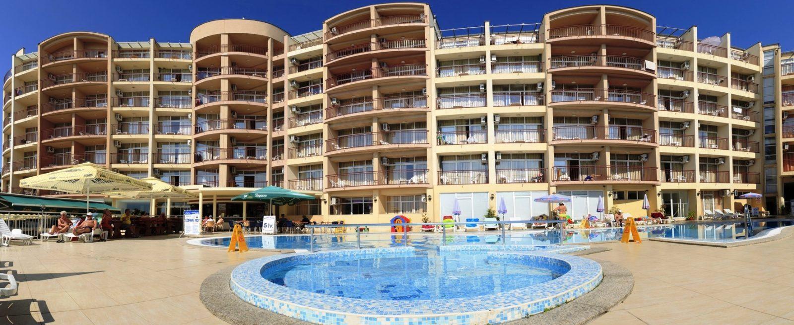 отель luna 4 болгария золотые пески