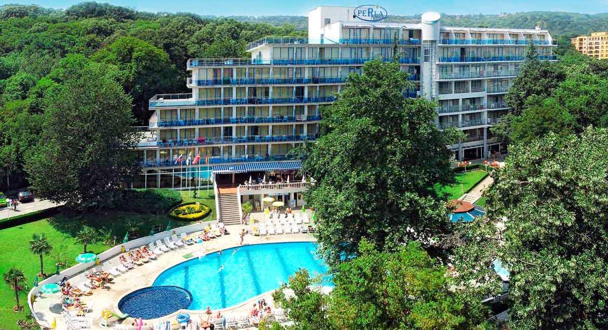 Вид на отель Perla 3 в Болгарии