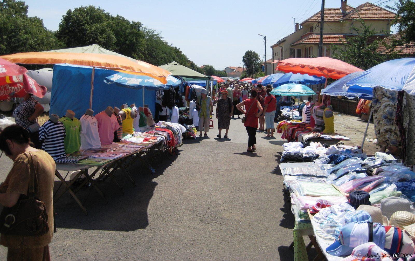 Рынок в Каблешково