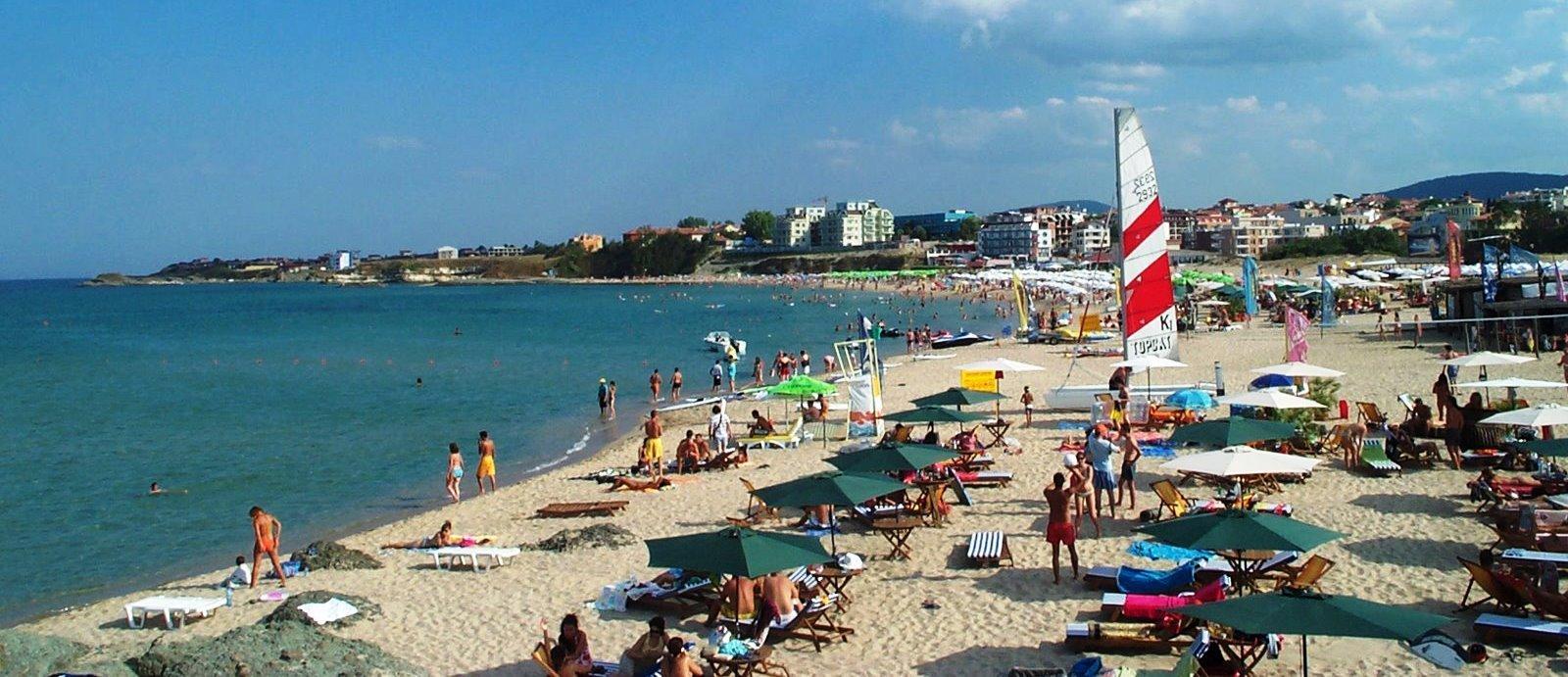 Пляж в Лозенеце Болгария