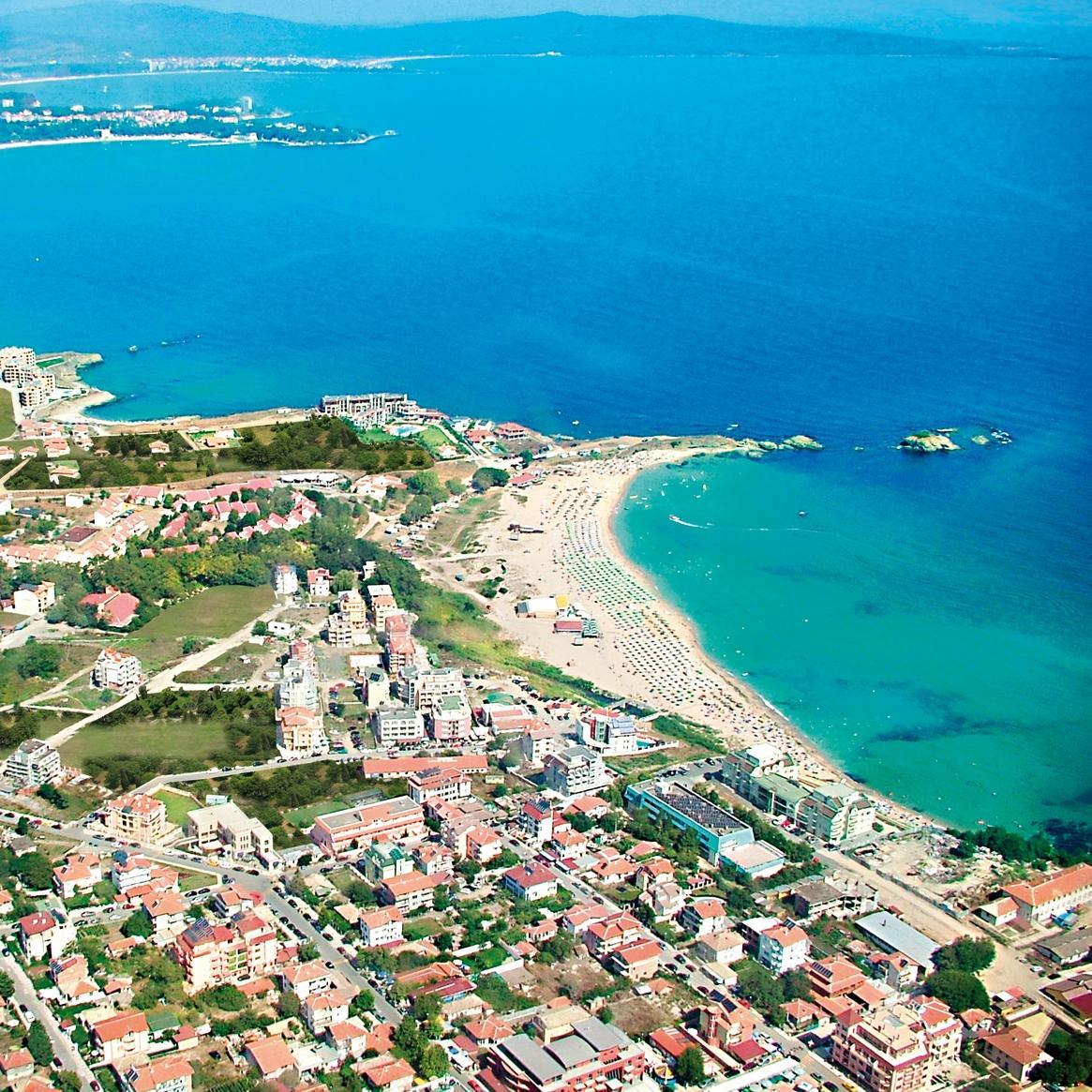 Лозенец в Болгарии берег у моря